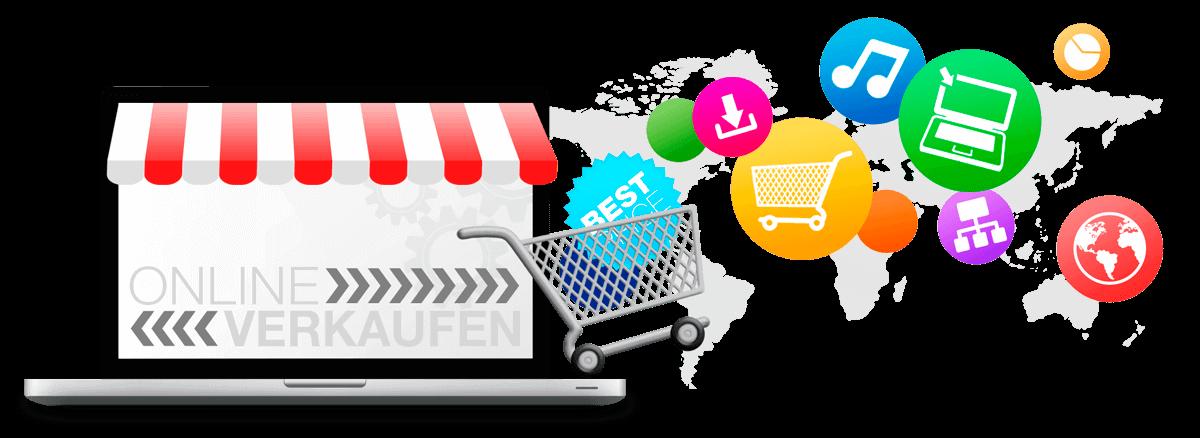 eCommerce - Onlineshops und Verkaufsplattformen für Handel im Internet mit Marketing Basmer