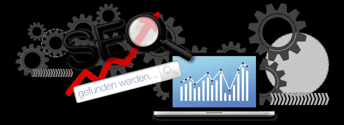 Suchmaschinenoptimierung - SEO onpage und offpage zur besseren Sichtbarkeit in den Suchergebnissen von Marketing Basmer